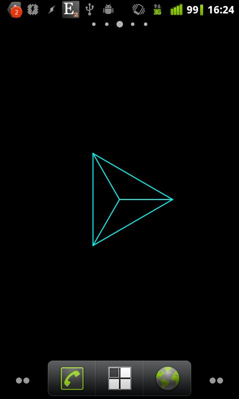 Geometric Shape Live Wallpaper- screenshot