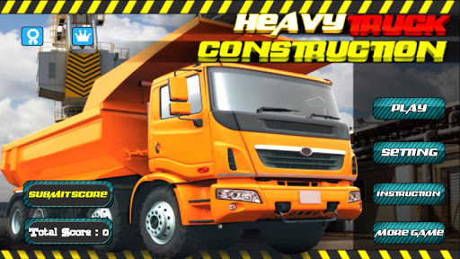 Heavy Truck : Construction 3D