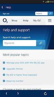 My O2 - screenshot thumbnail