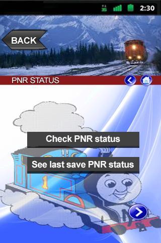 Check PNR Status Train Info