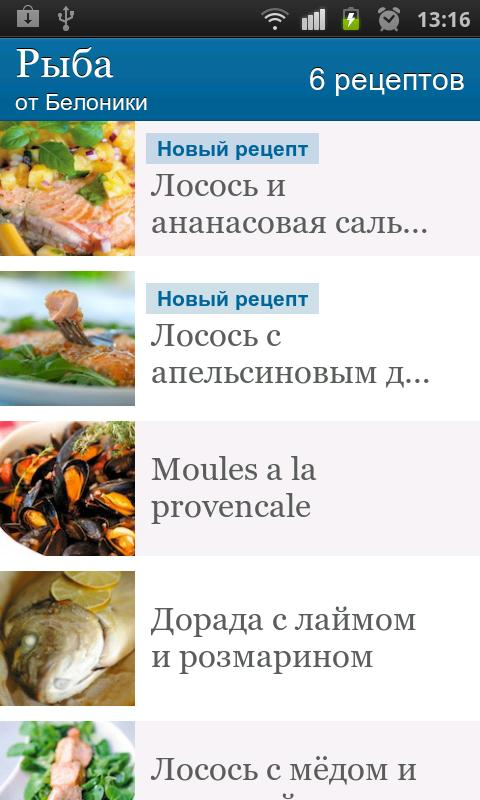 Belonika's Recipes - screenshot