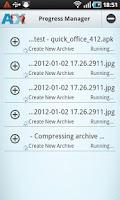 Screenshot of AndroXplorer Pro File Manager