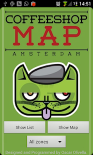 Coffeeshop Map Amsterdam- screenshot thumbnail