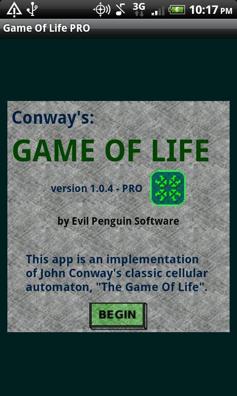 Game Of Life PRO- screenshot