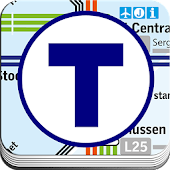 SL Transit Map Stockholm
