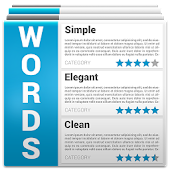 Words - vocabulary builder