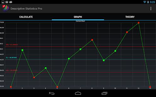 Descriptive Statistics Pro. - screenshot thumbnail