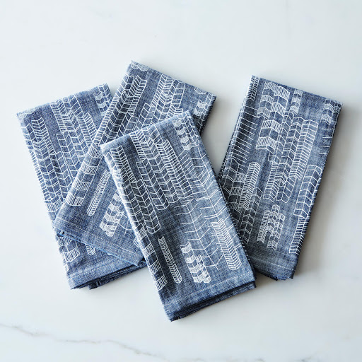 Feather Cities Napkin (Set of 4)