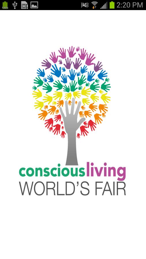 Conscious Living World's Fair - screenshot