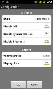 Bedside Mode widget- screenshot thumbnail