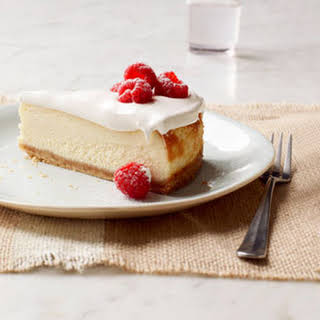Philadelphia Vanilla Mousse Cheesecake.