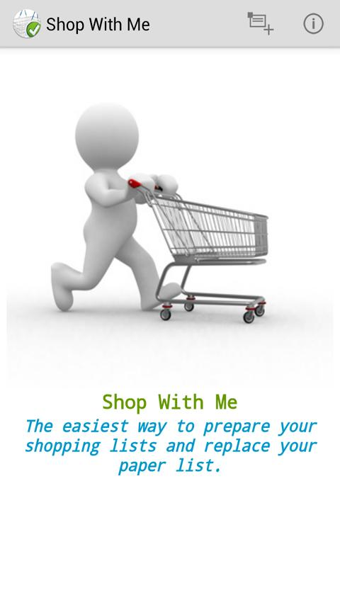 ShopWithMe - screenshot