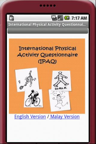 International Physical Activit