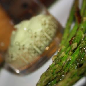 Avocado with Asparagus