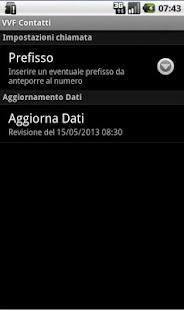 VVF Contatti- screenshot thumbnail