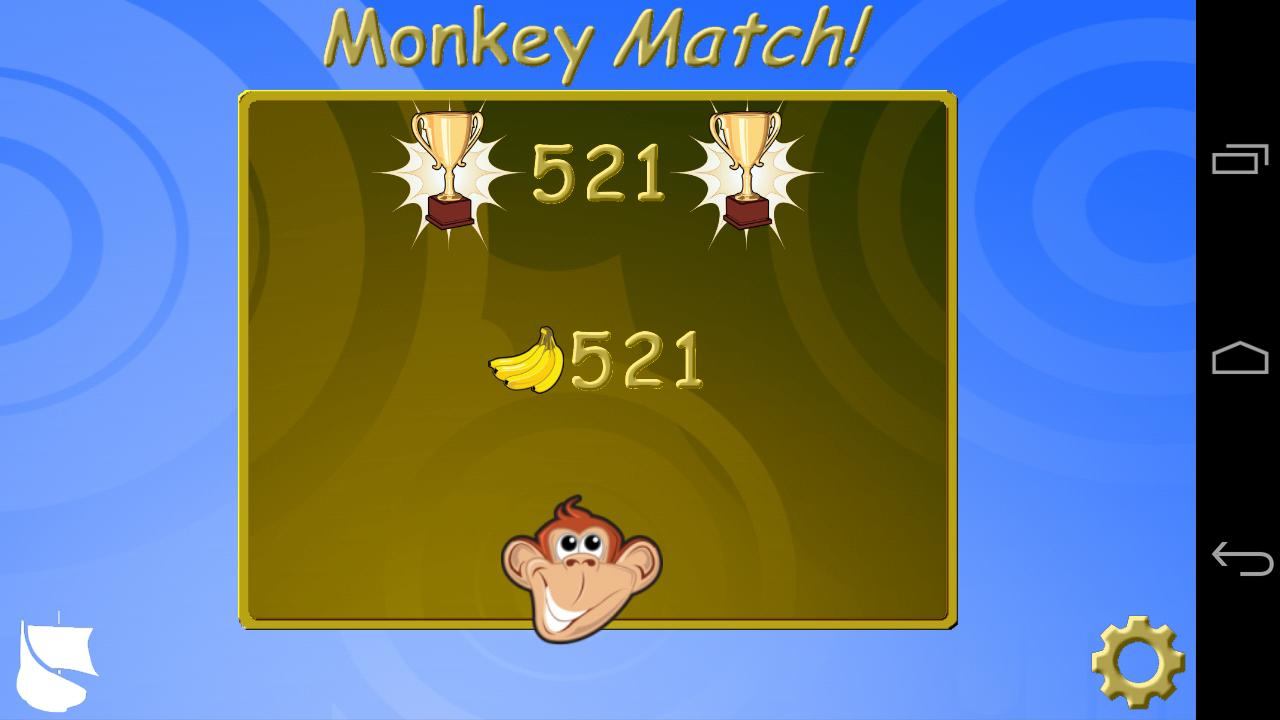 Monkey Match Free! - screenshot
