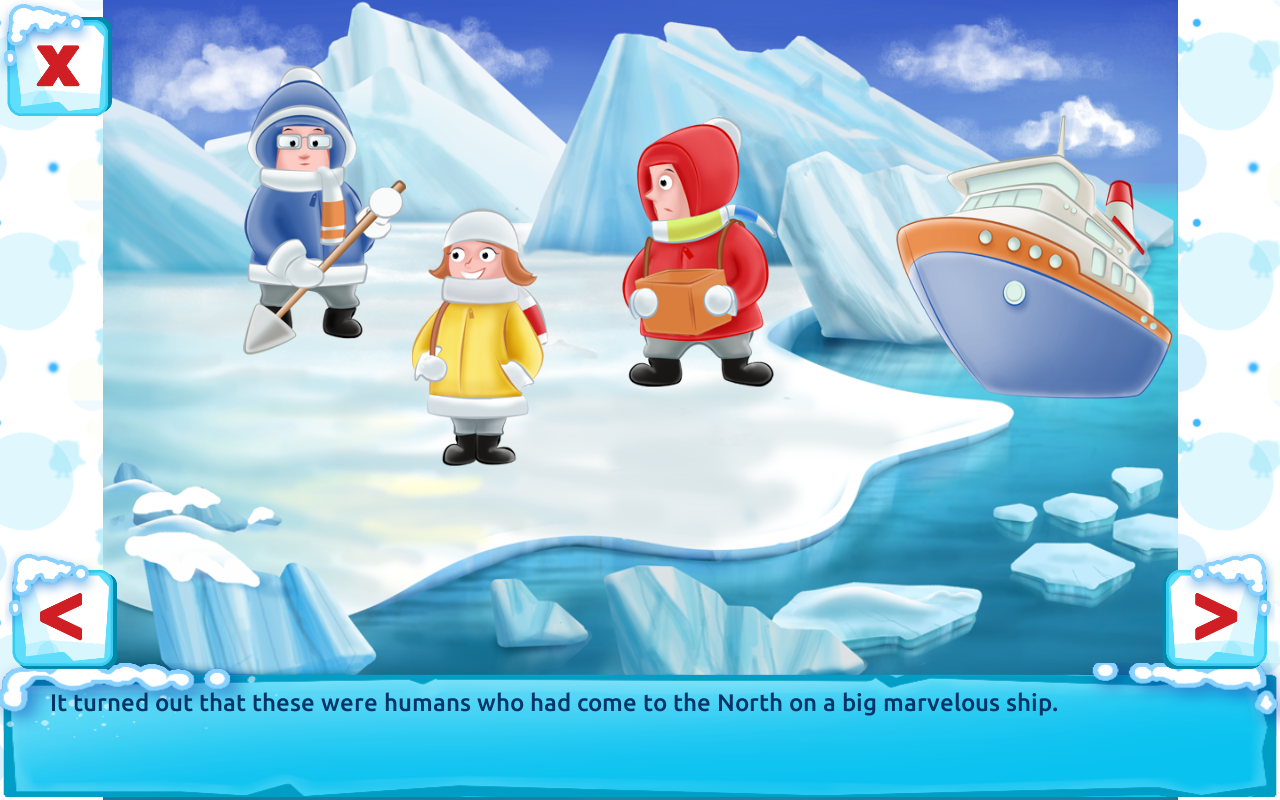 polar bear cub fairy tale with games free android apps on