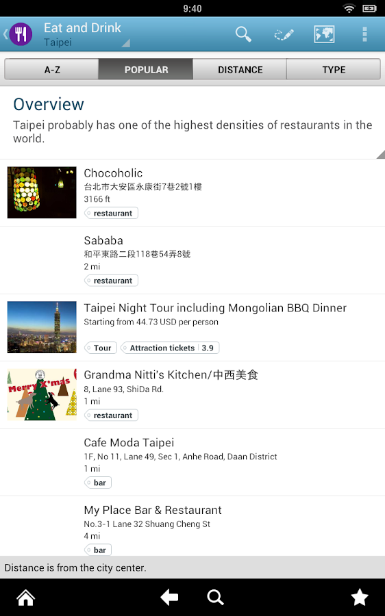 Taipei Travel Guide by Triposo- screenshot