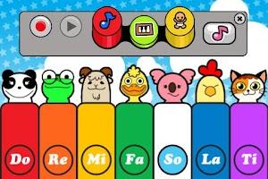 Screenshot of Baby Piano Lite