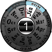 Year Clock Widget