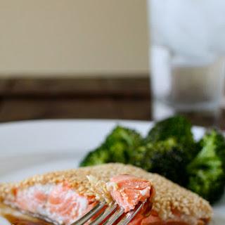 Sesame-Crusted Salmon