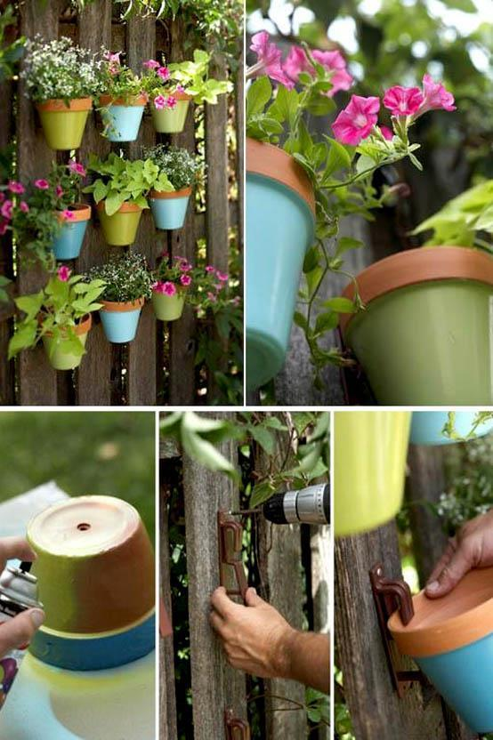 Diy Gardening Ideas diy concrete garden hands Diy Garden Ideas Screenshot