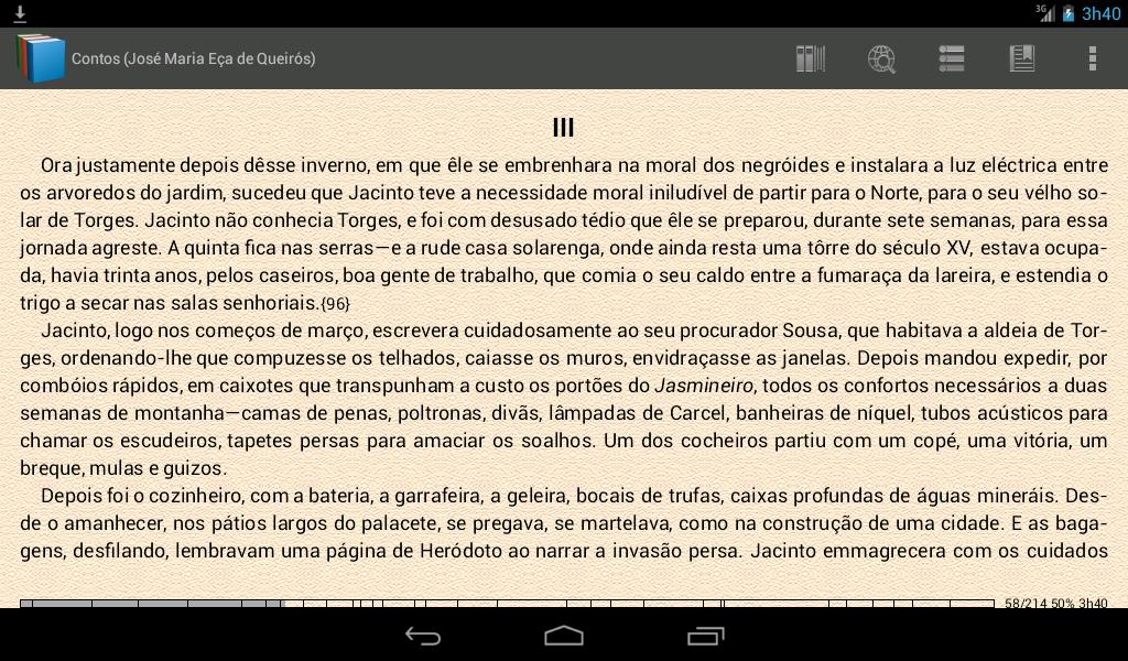 Livros grátis em português - screenshot