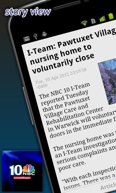 WJAR/NBC10 - screenshot