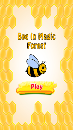 Bee In Magic Forest