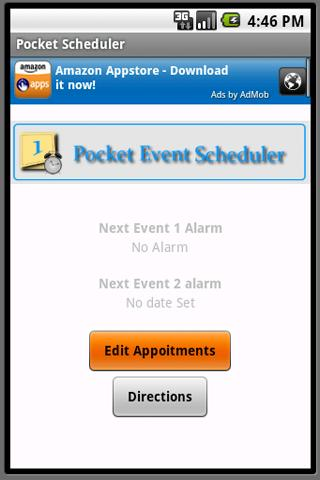 Pocket Event Schedule - screenshot
