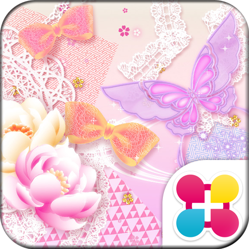 Cute Wallpaper Lacy Butterfly Icon
