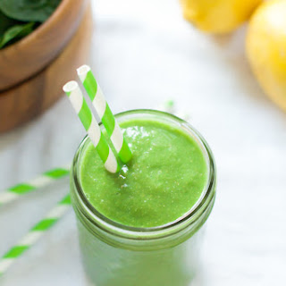 Green Smoothie with Pineapple.