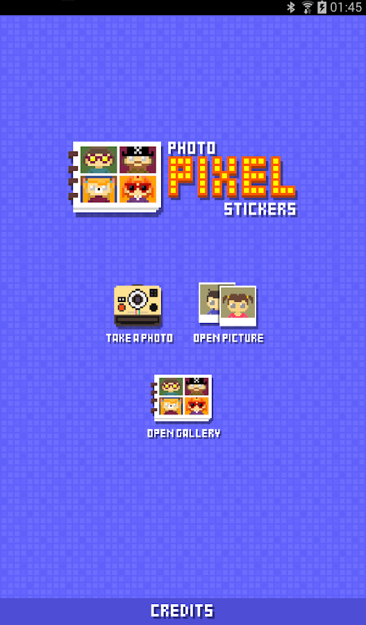 Photo Pixel Stickers- screenshot