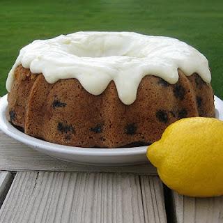 Lemon Blueberry Zucchini Cake