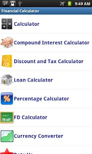Financial Calculator - screenshot thumbnail