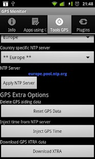 GPS Monitor Premium - screenshot thumbnail