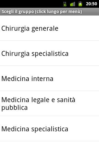 Esame Abilitazione Medicina - screenshot