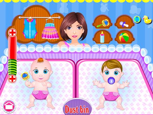 Newborn twins girls games 8.0.2 screenshots 16