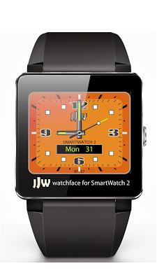 JJW Spark Watchface 1 SW2 - screenshot