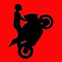 Doodle Stickman Bike Stunt icon