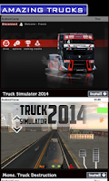 Screenshot of Truck Racing Games
