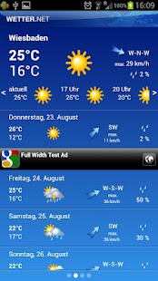 wetter.net- screenshot thumbnail