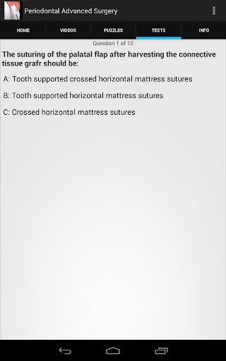 【免費醫療App】Periodontal Advanced Surgery-APP點子