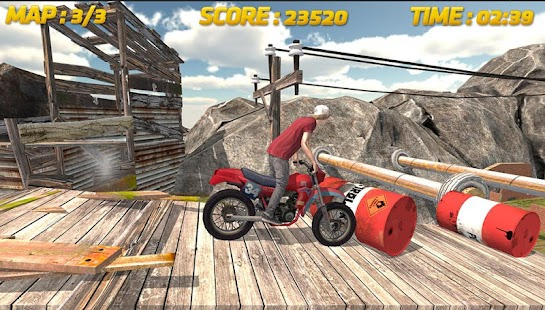 Radrennen 3D: Stunt Screenshot