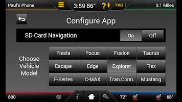 Screenshot of MyFord Touch Guide