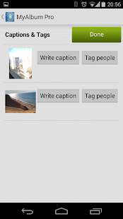 MyAlbum: Social photos manager- screenshot thumbnail