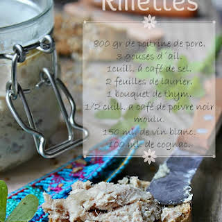 French Rillettes.
