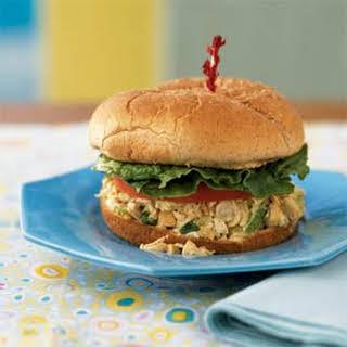 Cashew Chicken Salad Sandwiches.