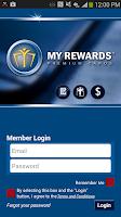 Screenshot of My Rewards Mobile