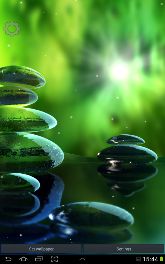 Green zen live wallpaper android apps on google play - Wallpaper volwassen kamer zen ...
